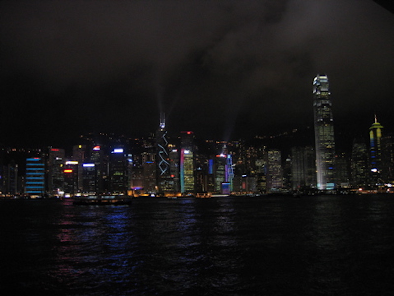 Night-Skyline @ Hongkong