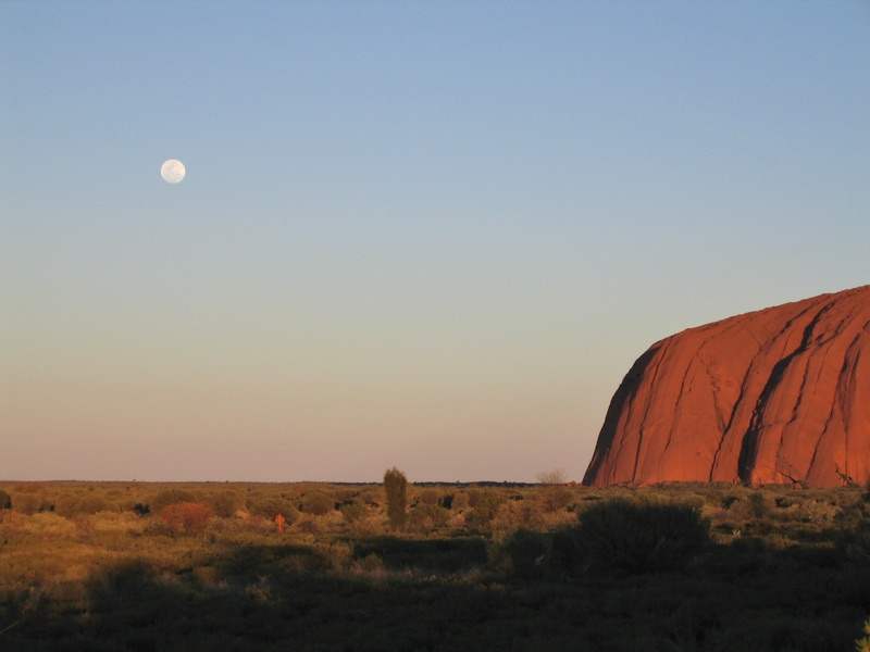 Vollmond @ Ayers-Rock